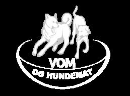 vom og hundemat logo hvit
